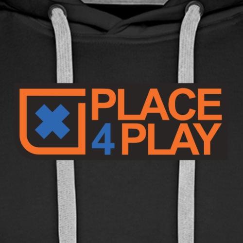 xplace4play horizon - Felpa con cappuccio premium da uomo