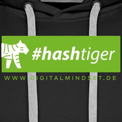 hashtiger - Männer Premium Hoodie