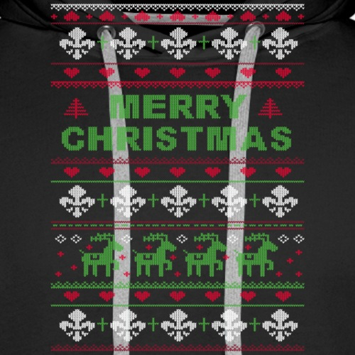 Ugly Sweater Merry Christmas Weihnachtsfarben