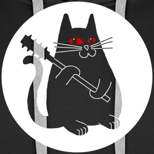 Purrzum Cat - Männer Premium Hoodie