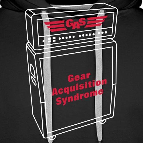 G A S Guitar Amp - Men's Premium Hoodie