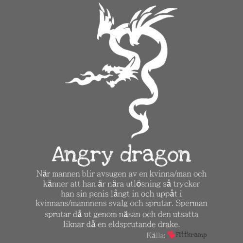 Angry dragon - Premiumluvtröja herr