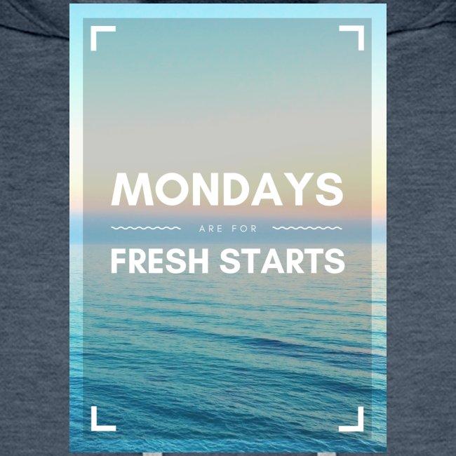 Start in die Woche