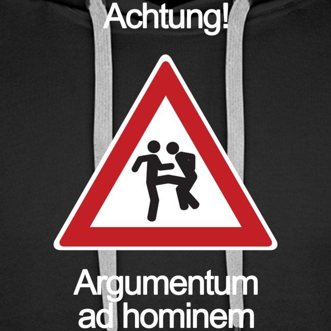 Achtung! Argumentum ad hominem