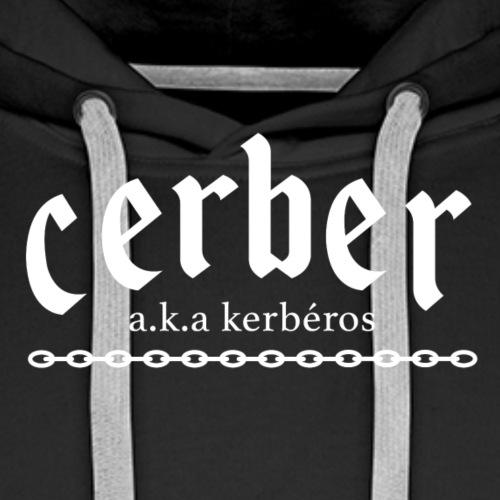 Cerber (black) - Men's Premium Hoodie