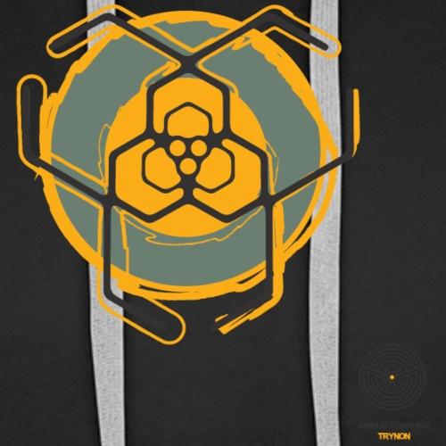 Trynon - Sweat-shirt à capuche Premium pour hommes