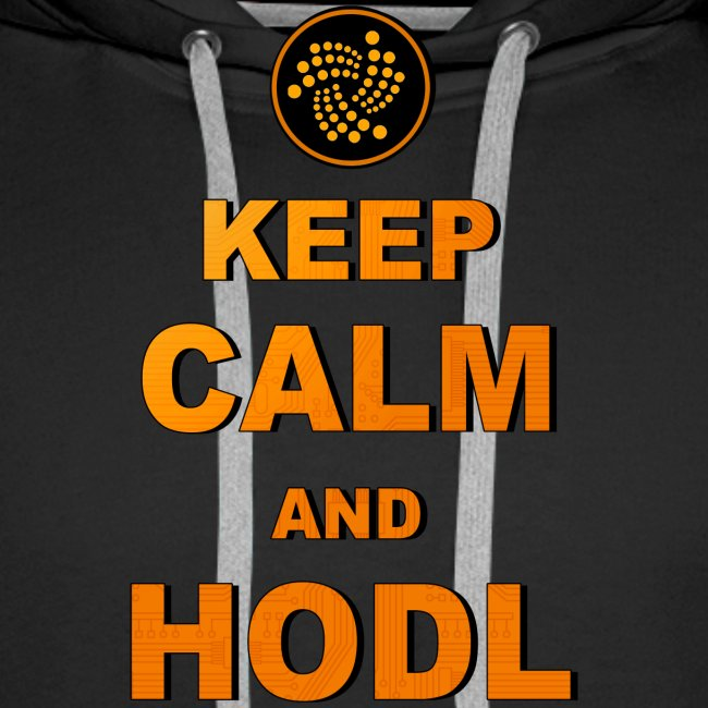 IOTA -keep calm and HODL