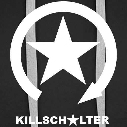 KILLSCHALTER Logo - Bluza męska Premium z kapturem