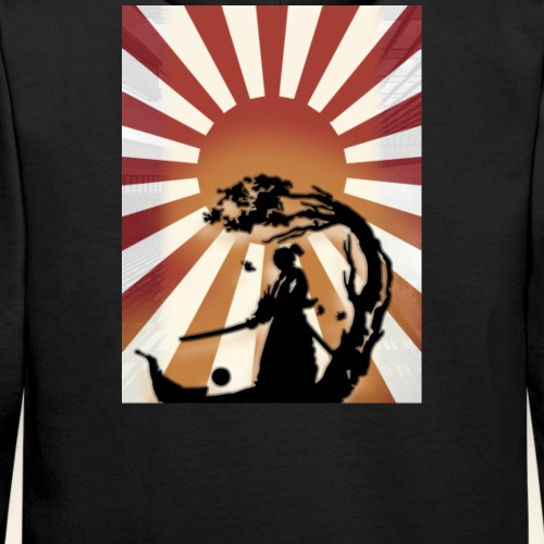 Japan Rising sun - Sweat-shirt à capuche Premium pour hommes