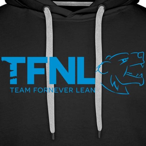 TFNL Blue Logo Hoodie - Men's Premium Hoodie