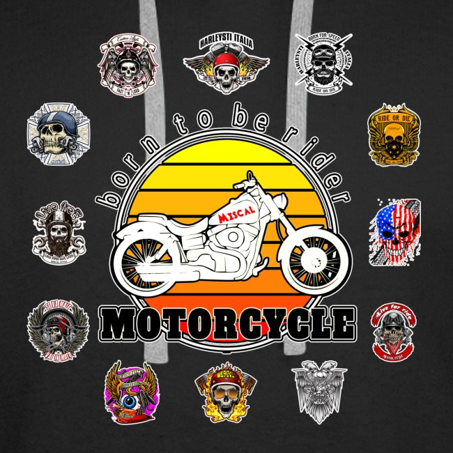 Born to be Rider - Motorcycle - Collection