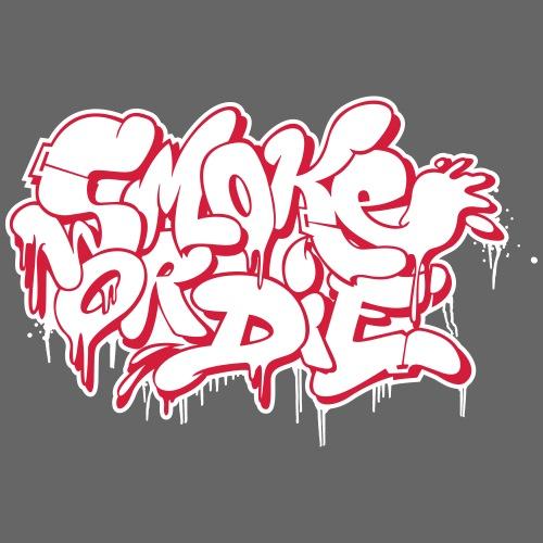 Smoke or Die Bubble - Männer Premium Hoodie