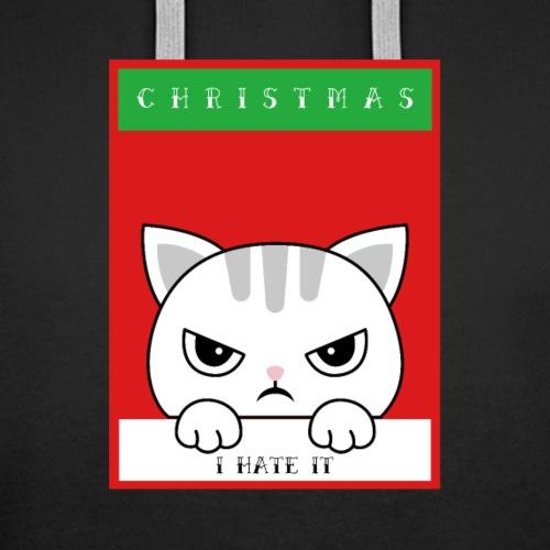 Ik haat kerstmis boze kat