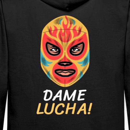 Máscara Lucha Mexicana   Dame Lucha! - Sudadera con capucha premium para hombre