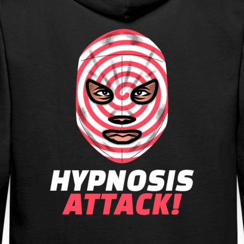 Máscara Lucha Mexicana   Hypnosis Attack - Sudadera con capucha premium para hombre