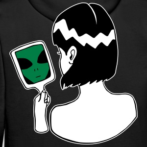 Alien in the Mirror - Ich bin ein Alien - Männer Premium Hoodie