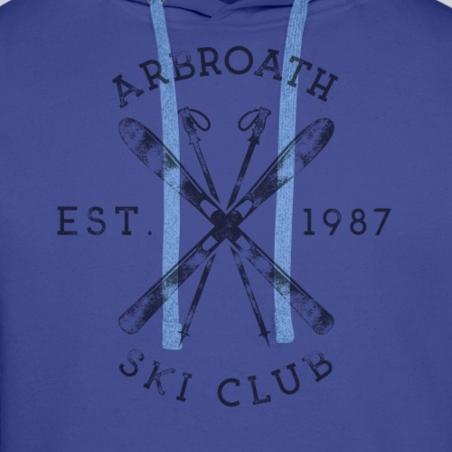 Arbroath Ski Club dark image - Men's Premium Hoodie