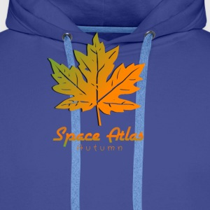 Space Atlas T-Shirt Autumn - Men's Premium Hoodie