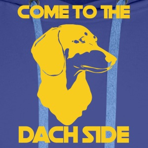 Dackel / Dachshund: Come To The Dach Side - Männer Premium Hoodie