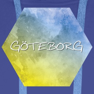 Gothenburg - Sweat-shirt à capuche Premium pour hommes