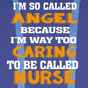 Angel Caring Nurse - Men's Premium Hoodie