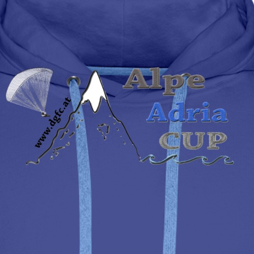 Alpe Adria Cup Design - Männer Premium Hoodie