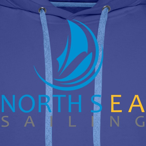 Logo couleur texte vectorise - Sweat-shirt à capuche Premium pour hommes
