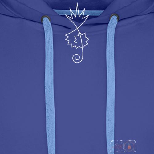 Pineapple Notenschlüssel inc Branding - Männer Premium Hoodie