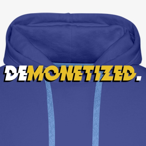 Demonetized. - Premium hettegenser for menn