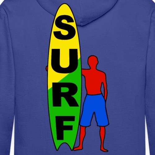 surfing fashion team - Men's Premium Hoodie