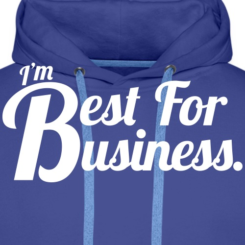 Vector Best for Business - Men's Premium Hoodie