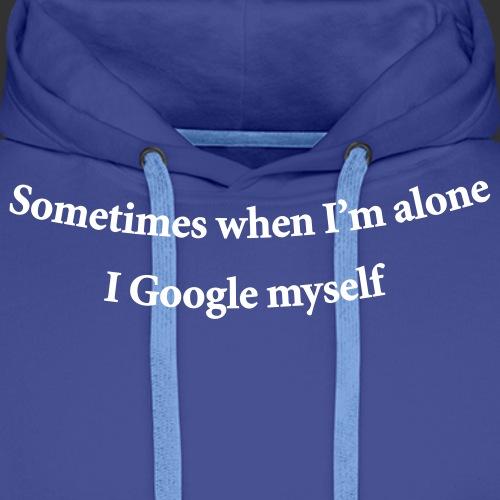 geek googlemyself - Premiumluvtröja herr