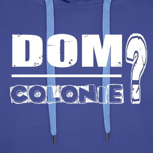 dom colonie blanc - Sweat-shirt à capuche Premium pour hommes