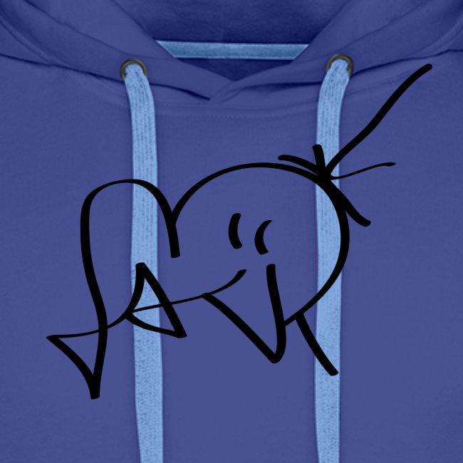 Jackjohannes Hemp signatuur 'Jack' zwart