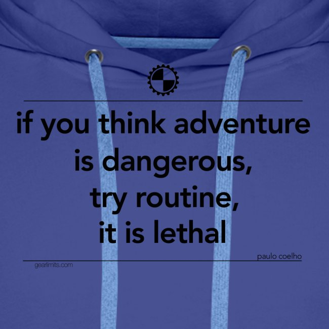 If you think adventure Paulo Coelho black