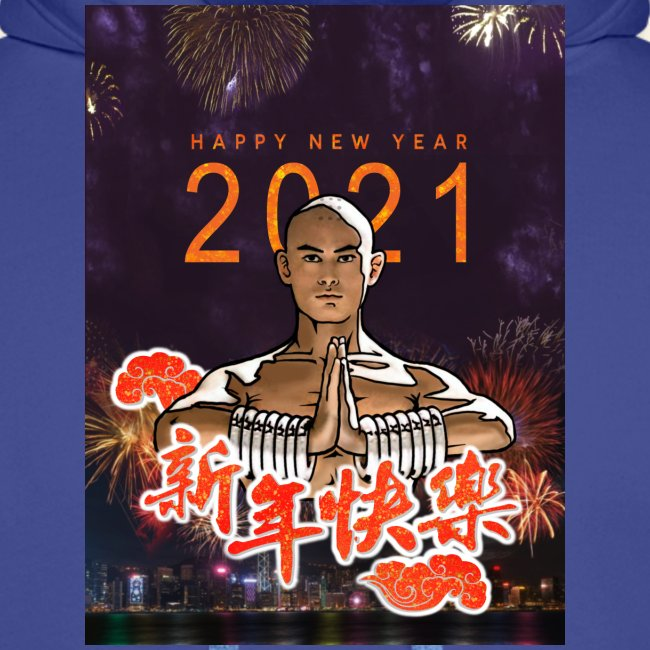 Gordon Liu as SanTe - Warrior Monk - Happy NewYear