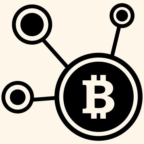 Bitcoin, Symbol, Sign, Ticker, BTC, Blockchain - Men's Premium Hoodie