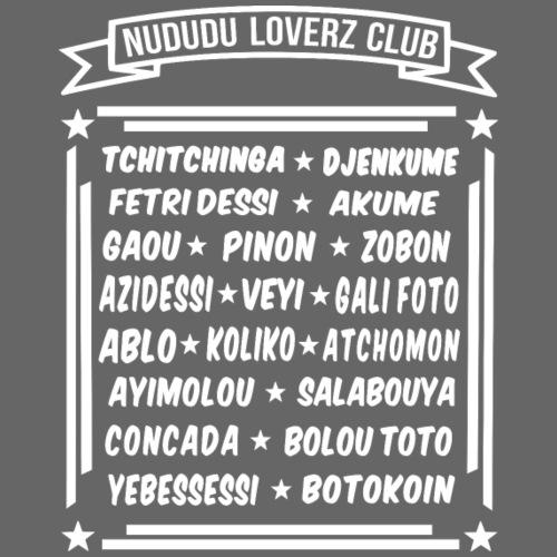 NUDUDU LOVERZ CLUB - Sweat-shirt à capuche Premium pour hommes