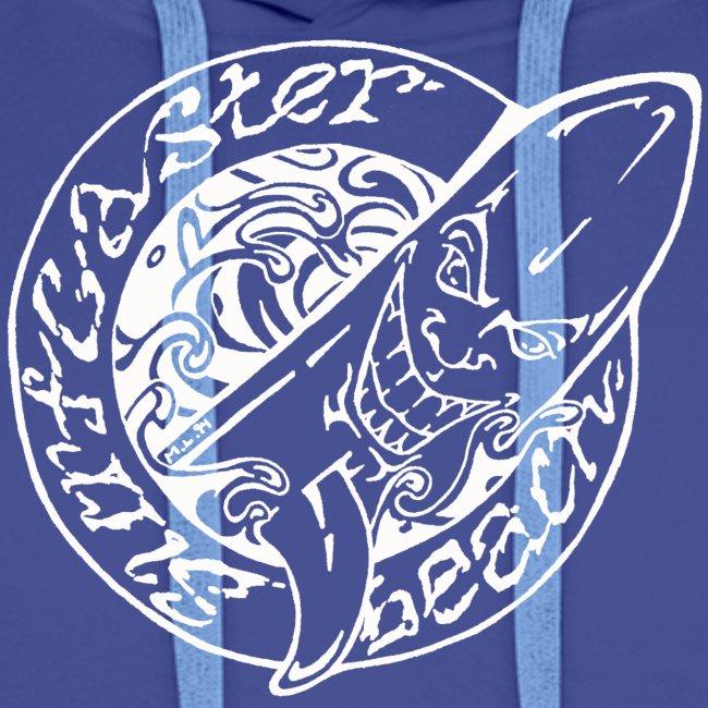 Surfcaster Beach Vit Logo
