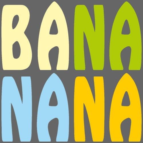 Bananana bunt - Männer Premium Hoodie