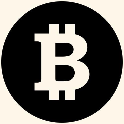 Bitcoin, Symbol, Sign, Blockchain, BTC, Cryptos - Men's Premium Hoodie
