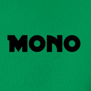 Mono in black - Men's Premium Hoodie