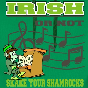 Irlandais ou pas Shake Your Shamrocks - Sweat-shirt à capuche Premium pour hommes