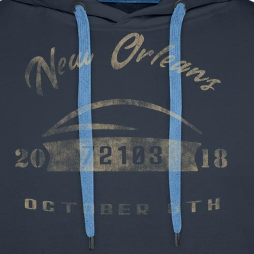New Orleans 10/08/18 72103 - Men's Premium Hoodie