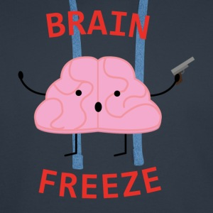 Brain Freeze - Sweat-shirt à capuche Premium pour hommes