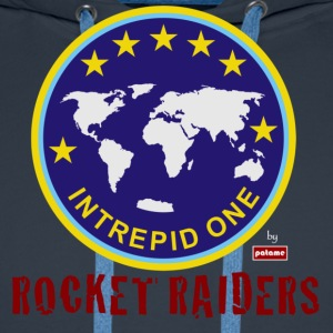 patame Intrepid One Logo Rocket Raiders - Men's Premium Hoodie