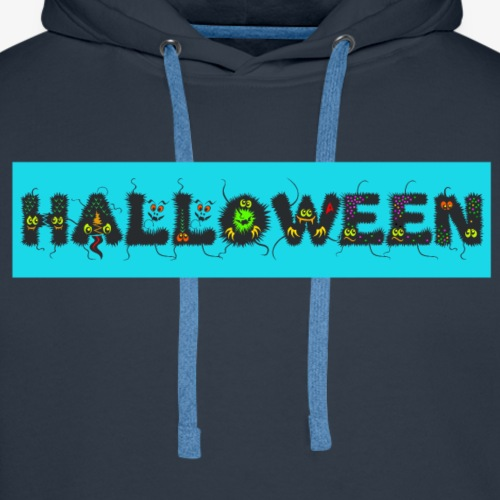 Halloween Monster for Kids - Men's Premium Hoodie