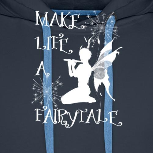 Make Life A Fairytale Wings Dust Girls T-Shirt - Men's Premium Hoodie
