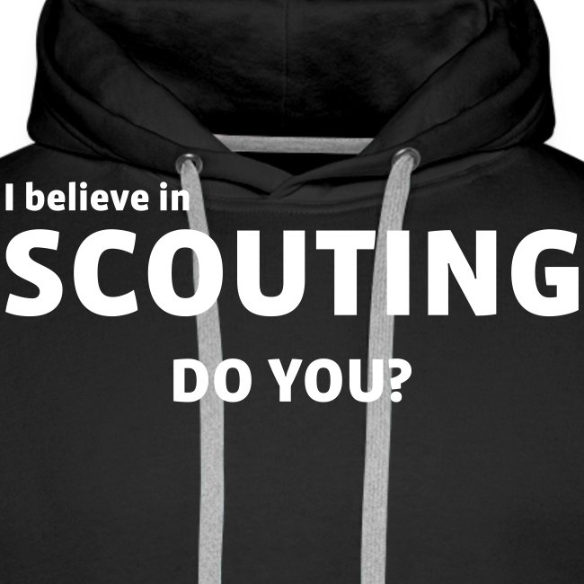 i believe in scouting