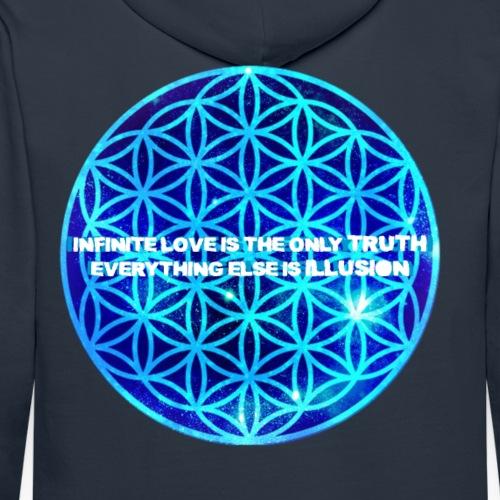 Infinite Love is the Only TRUTH - Men's Premium Hoodie